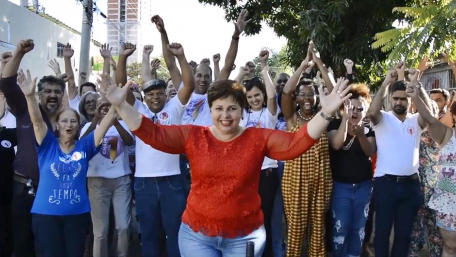 Bia de Lima é reeleita presidente do Sintego
