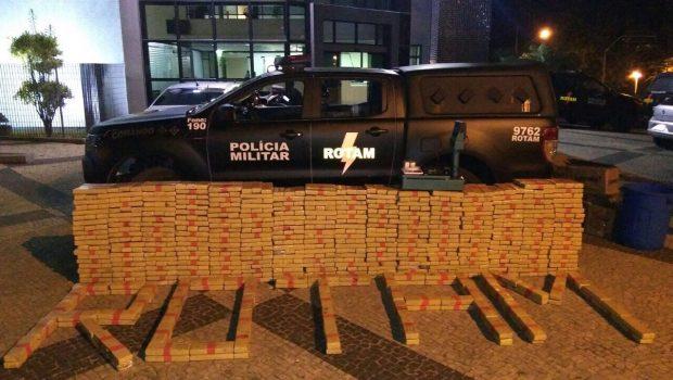 Polícia Militar apreende quase 1 tonelada de maconha em Aparecida de Goiânia