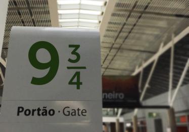 Aeroporto de Brasília ganha portão 9 ¾