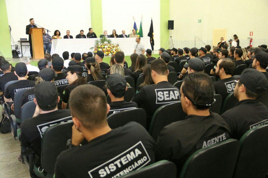 Sistema prisional em Goiás recebe reforço de 200 novos agentes