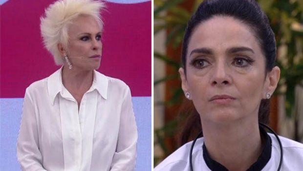 Claudia Ohana erra no francês e é corrigida por Ana Maria Braga