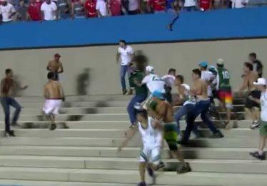 Em nota, Vila Nova repudia confusão após clássico contra o Goiás