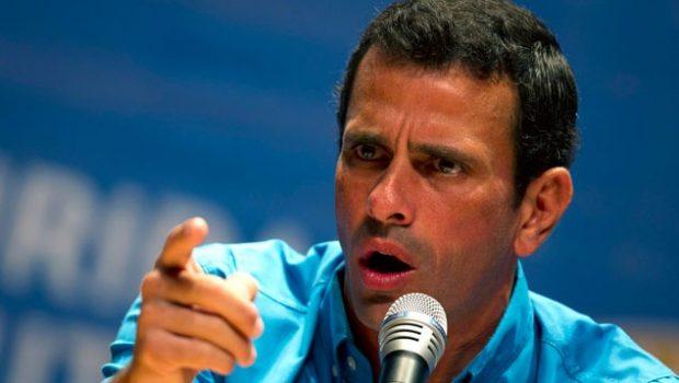 """Capriles diz que Constituinte venezuelana será usada para """"cortar cabeças"""""""