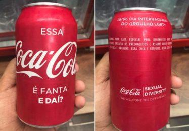 Coca-Cola distribui latinha especial para Dia Internacional do Orgulho LGBT