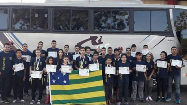 Delegação goiana fatura 11 medalhas no Brasileiro de Taekwondo Júnior