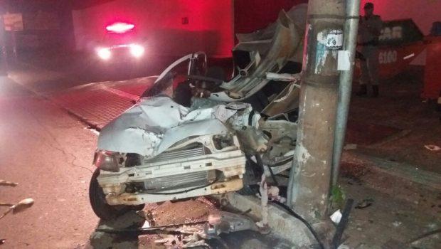 Homem fica em estado grave em acidente na Avenida T-9, em Goiânia