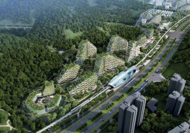 China vai construir cidade coberta por árvores para conter CO2