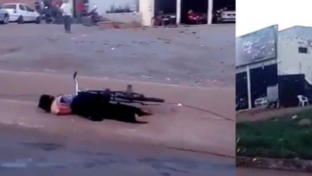 Mulher atingida por fio de alta tensão em Itaberaí está internada na UTI do Hugol