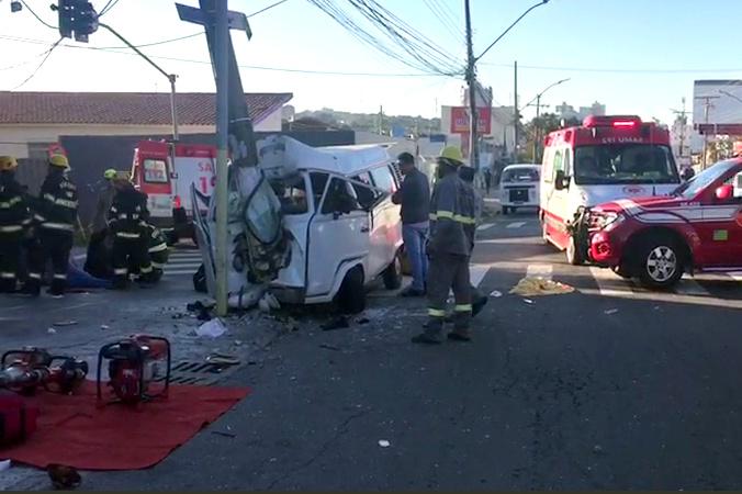 SRTE autua empresa responsável por funcionários que sofreram acidente em kombi