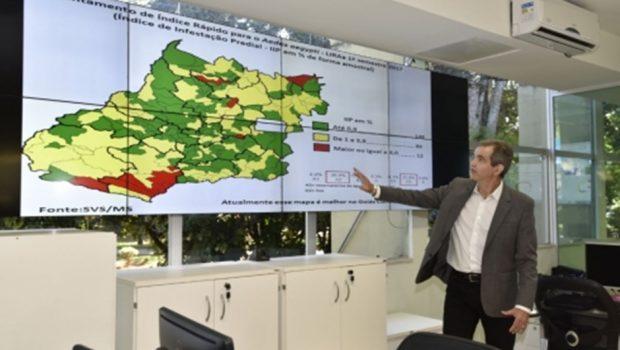 Goiás vai receber R$ 2,3 milhões por levantamento sobre índice de infestação do Aedes aegypti