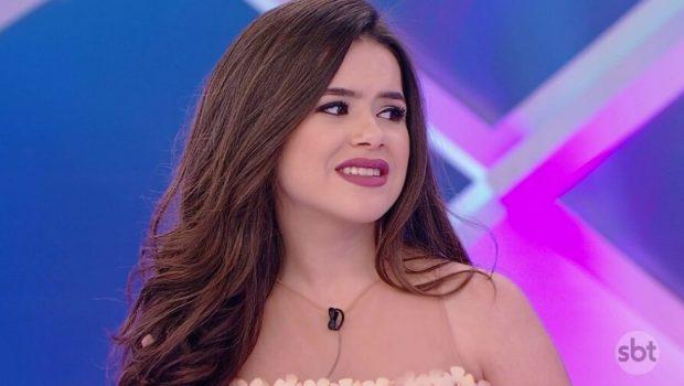 """Maisa Silva repreende Silvio Santos por tentar """"juntá-la"""" com Dudu Camargo"""
