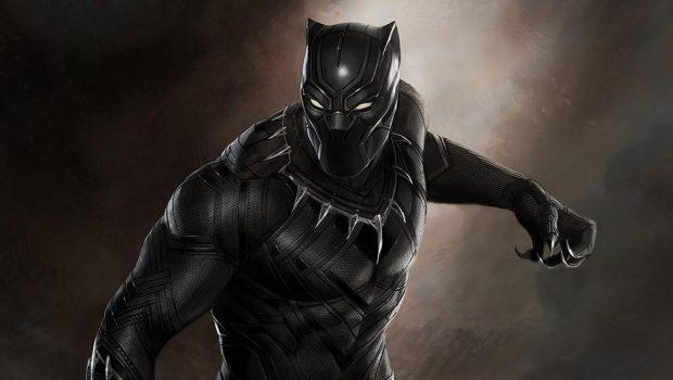 Marvel divulga primeiro poster de Pantera Negra