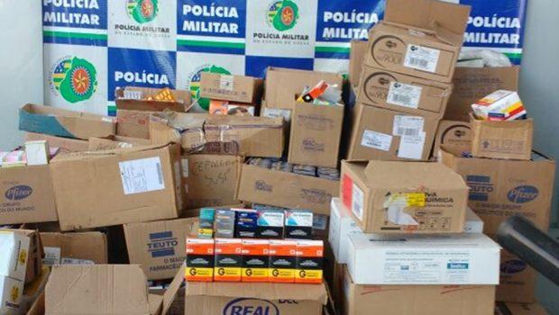 Homem é preso por comercializar medicamentos de forma irregular