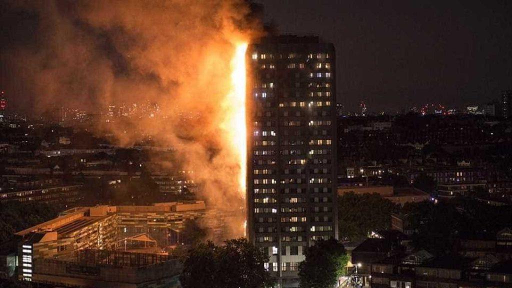 Resultado de imagem para Incêndio em edifício de Londres começou em uma geladeira com defeito