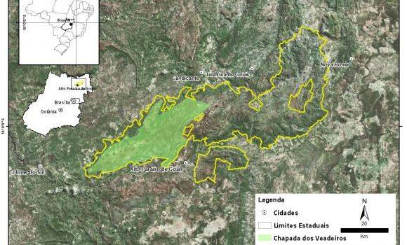 Parque Nacional da Chapada dos Veadeiros é ampliado para 240 mil hectares