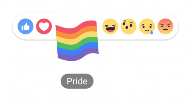 Facebook lança reação para comemorar mês do Orgulho LGBTQ