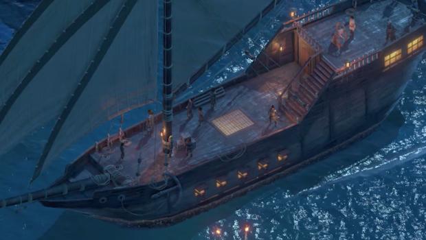 Você terá seu próprio navio pirata em Pillars of Eternity 2