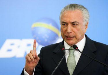 Supremo envia à PGR pedido da defesa de Temer para acesso a áudios