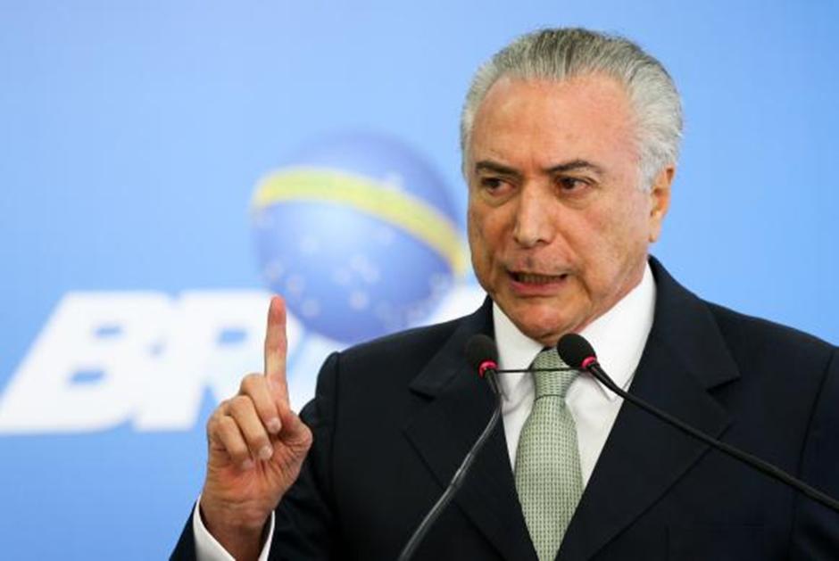 Brasil não parou, ao contrário do que propagam arautos do desastre, diz Temer