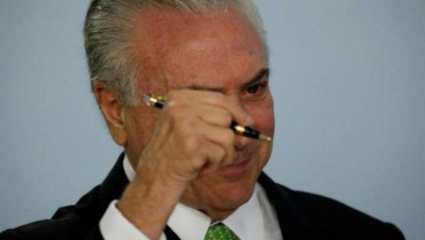 Temer envia à Justiça respostas para as 22 perguntas da defesa de Cunha
