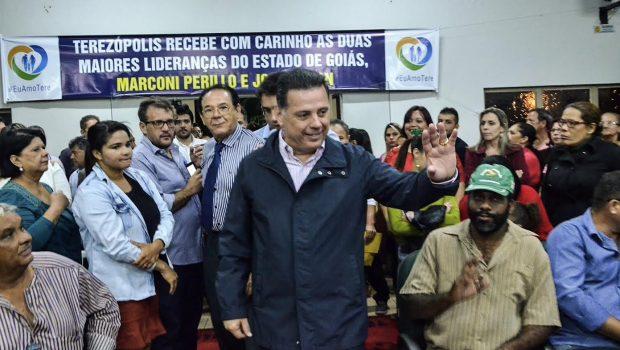 Em Terezópolis, Marconi assina convênio de R$ 2,3 milhões