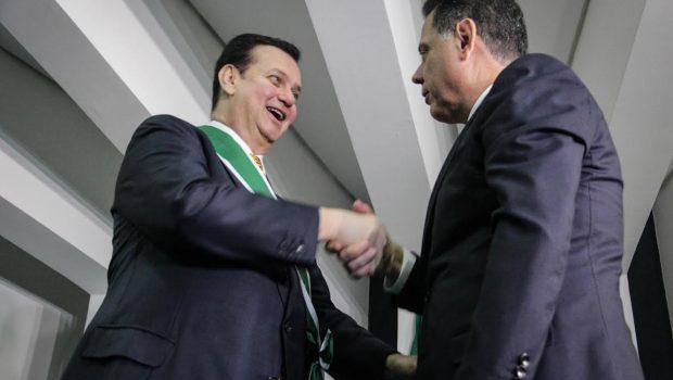 """""""Marconi é um dos maiores líderes do Brasil"""", diz Kassab"""