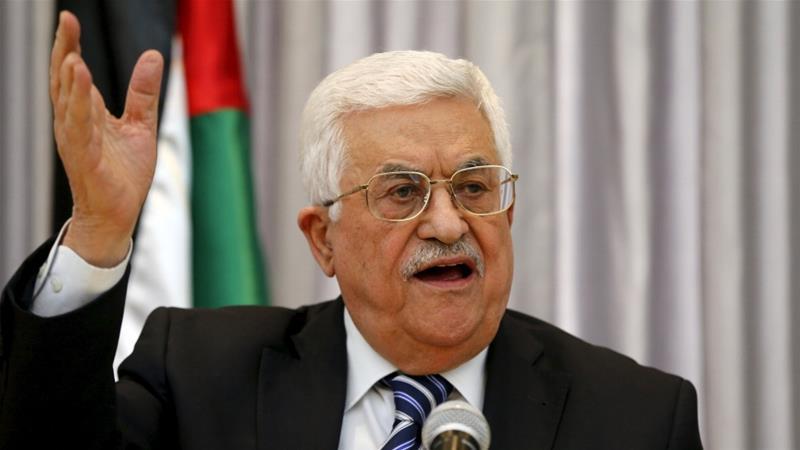 Presidente palestino anuncia suspensão de todos os contatos com Israel