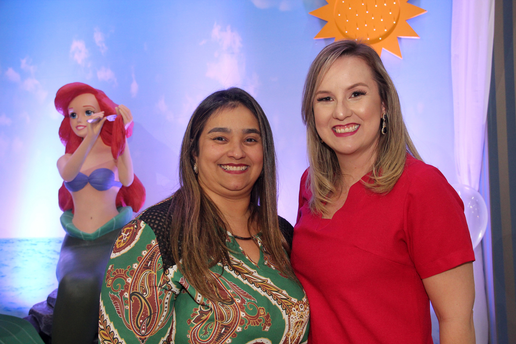 A empresária Liliane Evangelista era uma das convidadas da cerimonialista infantil Andréa Noki na Forma Festa Kids - Eventos.