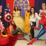 A empresária Marcella Mattos inaugurou a Forma Festa Kids – Eventos. A festa contou com a presença de personagens vivos.