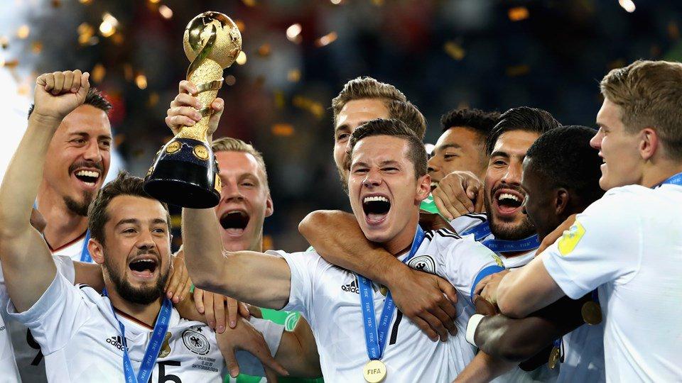 Alemanha bate o Chile e conquista o título da Copa das Confederações