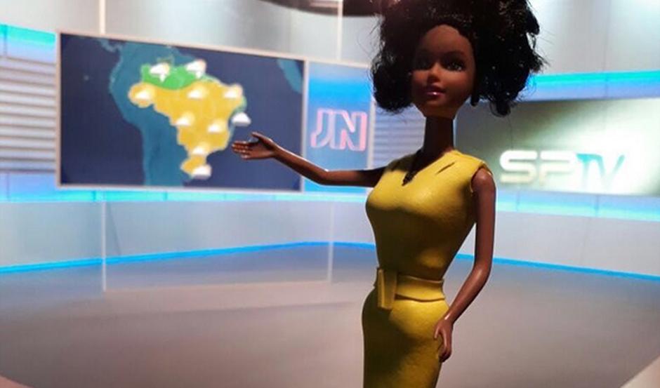 Maju Coutinho ganha boneca Barbie inspirada nela