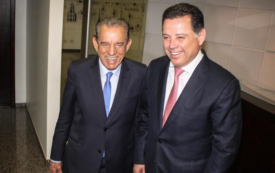 Marconi recebe Iris para discutir melhorias no transporte coletivo, e prefeito pede para participar do Goiás na Frente