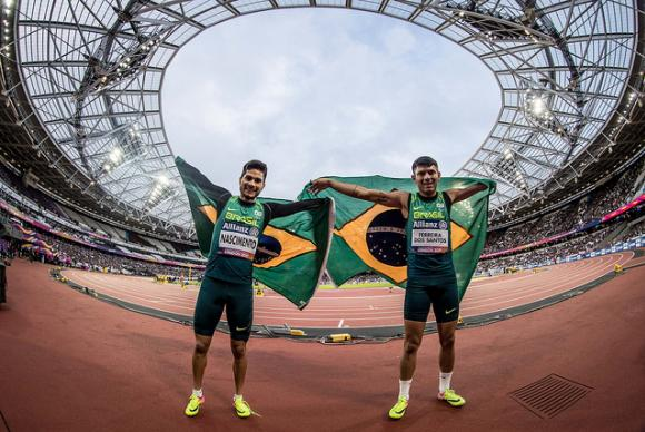 Brasil conquista oito medalhas de ouro no Mundial de Atletismo Paralímpico