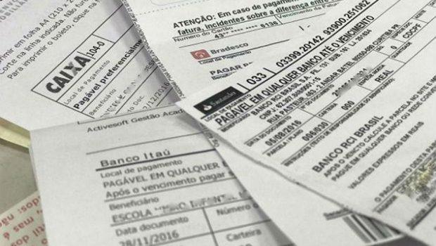 Boletos vencidos a partir de R$ 400 podem ser pagos em qualquer banco
