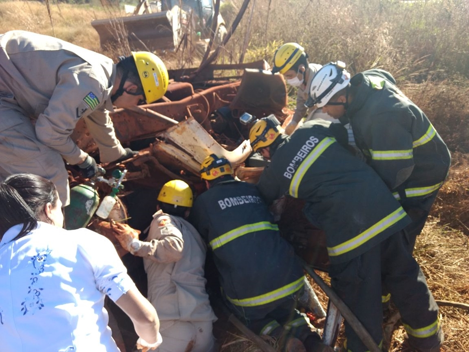 Acidente na GO 569 deixa uma vítima fatal