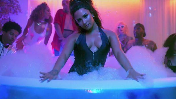 Demi Lovato gravou festa em casa para clipe de 'Sorry Not Sorry'