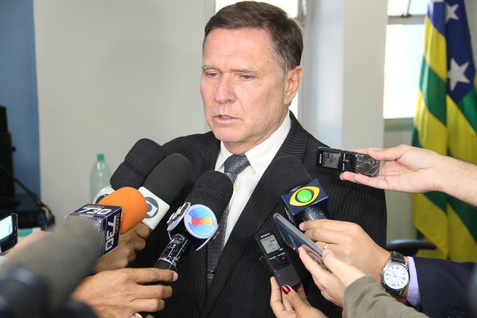 """""""Não faltam tornozeleiras eletrônicas em Goiás. Governo e Depen cooperam entre si"""", diz titular da Administração Penitenciária"""