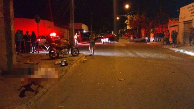 Motociclista morre em acidente com carro na Vila Matilde, em Goiânia