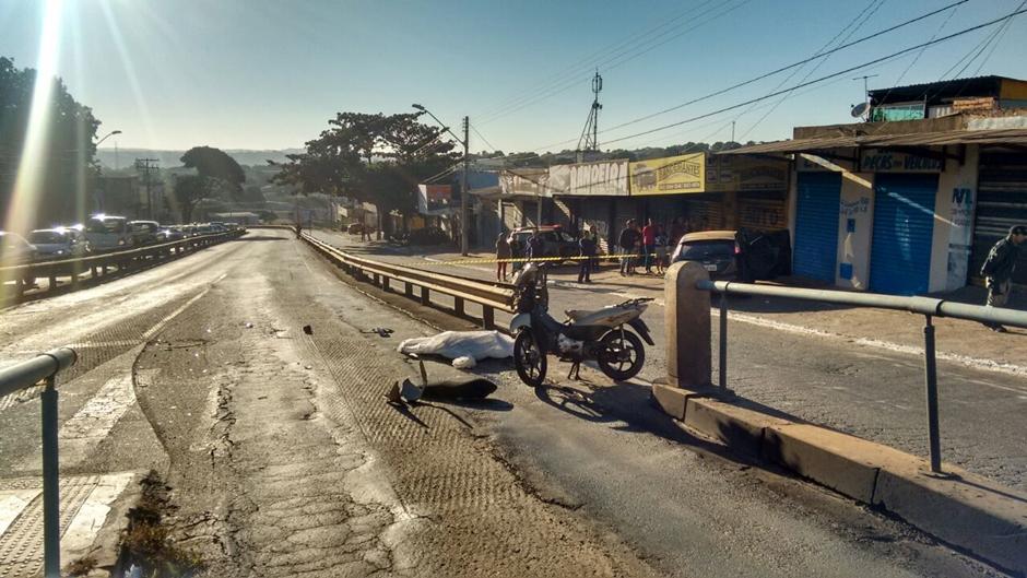 Motociclista morre em acidente na Avenida Anhanguera