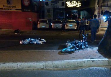 Idosa morre ao ser atropelada por moto na Avenida T-4, em Goiânia