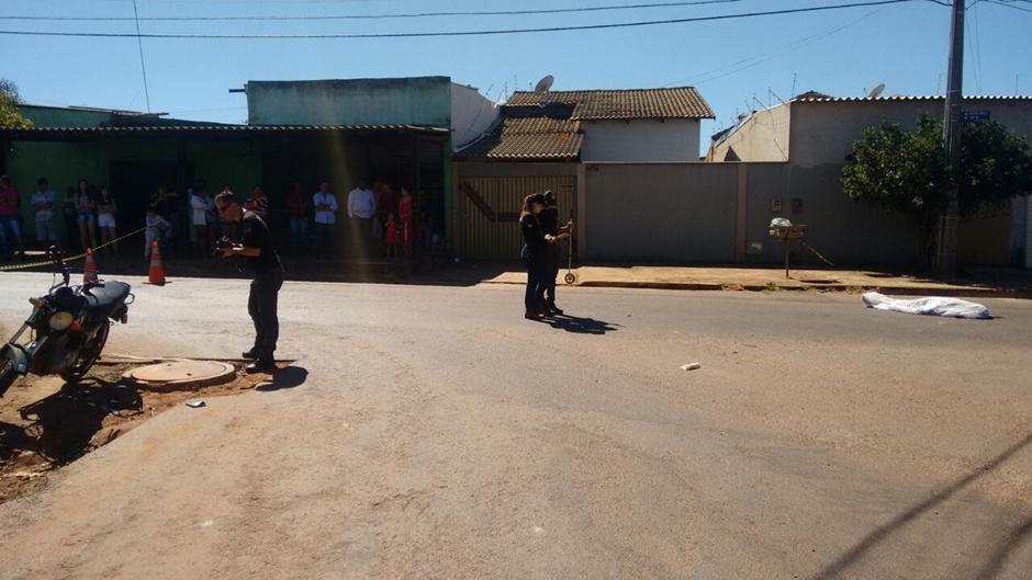 Mulher morre em acidente na Vila Finsocial, em Goiânia
