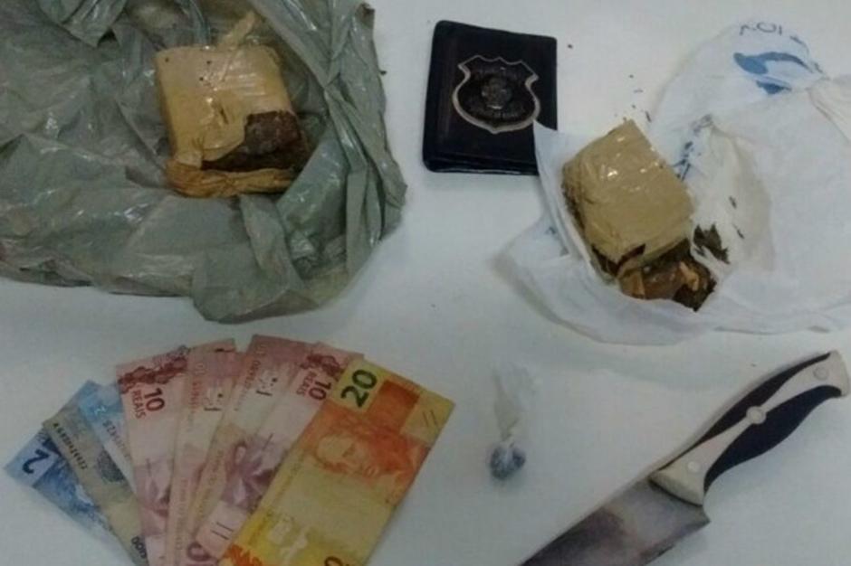 Homem é preso por tráfico de drogas, em Rialma