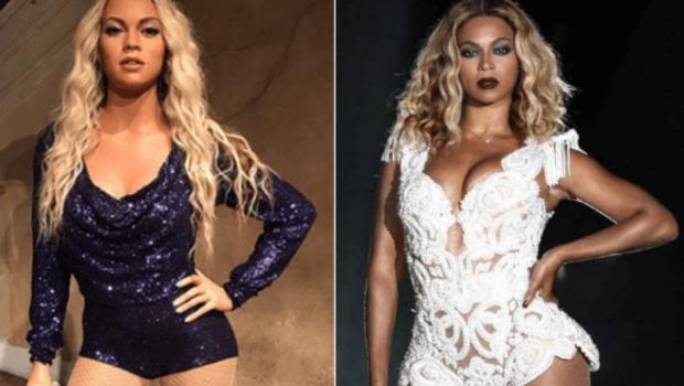 Estátua de cera de Beyoncé é confundida com Lindsay Lohan e Shakira