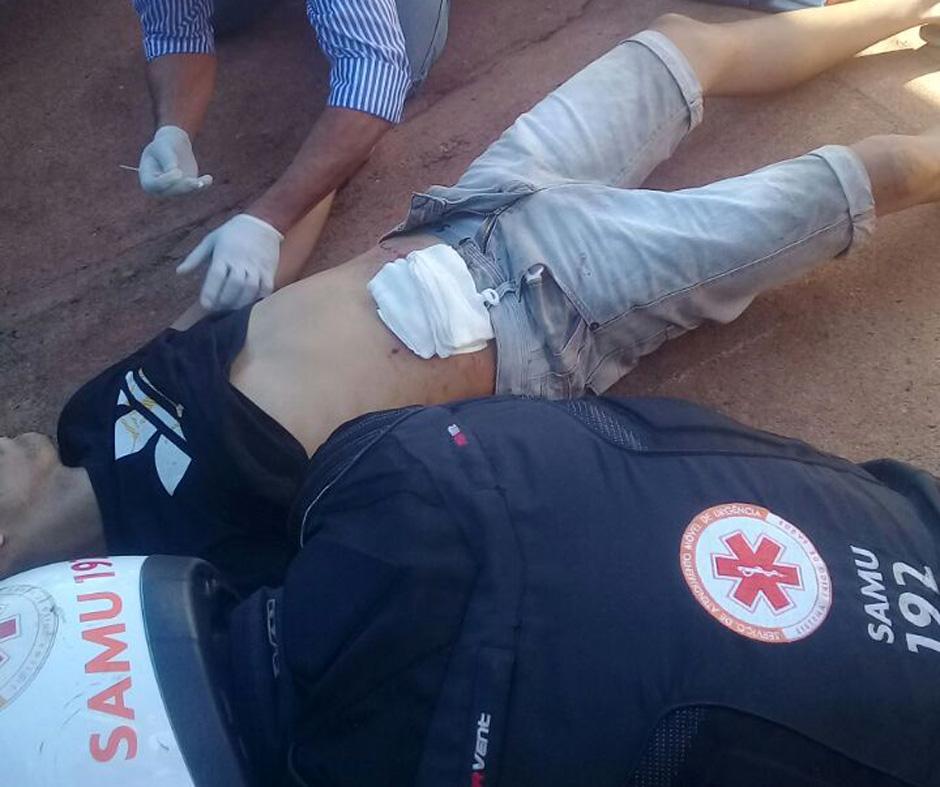 Homem é baleado após discussão por causa de pipa, em Itumbiara