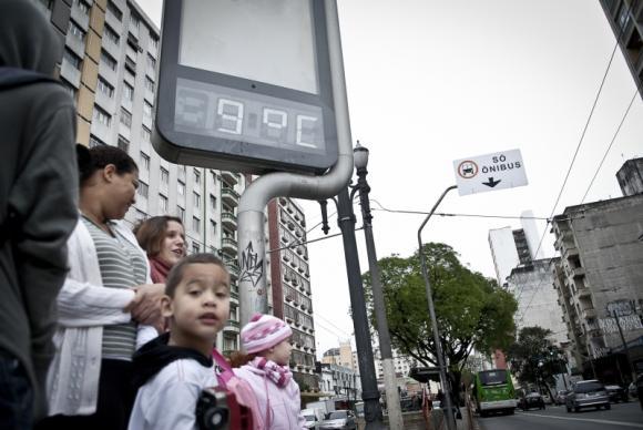 Frio deve continuar no Centro e no Sul do Brasil até o fim de semana