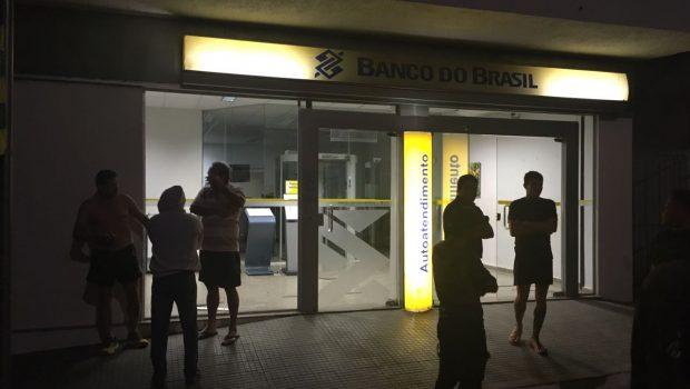Bandidos invadem agência bancária em Itaguaru, mas não conseguem detonar explosivos