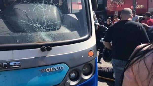 Em Campinas, homem é atropelado por ônibus do Eixo Anhanguera