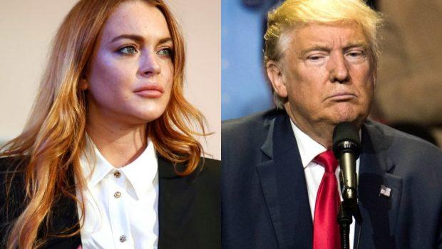 Lindsay Lohan pede que bullying com Donald Trump pare