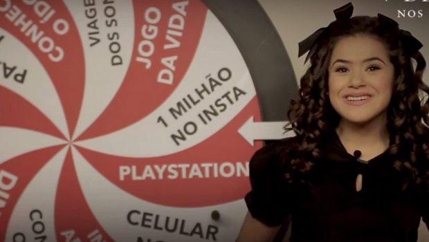 '7 Desejos': Maisa volta à roleta do PlayStation para divulgar filme de terror