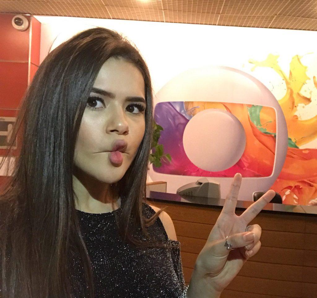 Maísa visita estúdios da Globo e deixa fãs em polvorosa